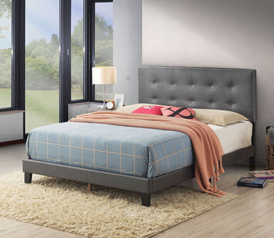 5282PUGY ANDI PLATFORM BED GREY