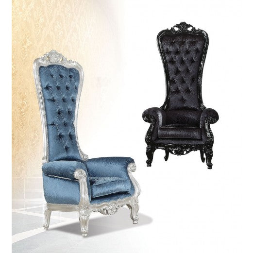 Royal Raven Chair 59141 by Acme