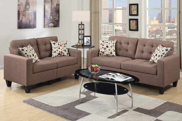 Sofa and Love Seat F6904
