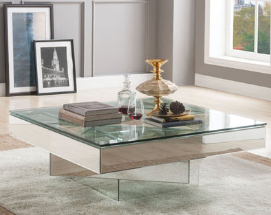 80270 Meria Coffee Table Mirrored