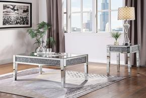 83582 Malish End Table Mirrored