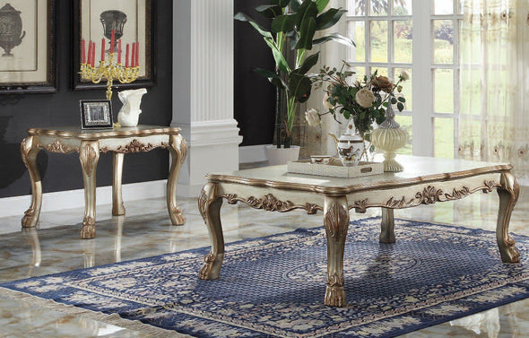 Dresden Gold Patina Coffe Table 83160
