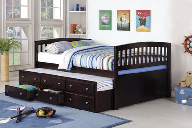 8411 Full Captain Bed with Trundle