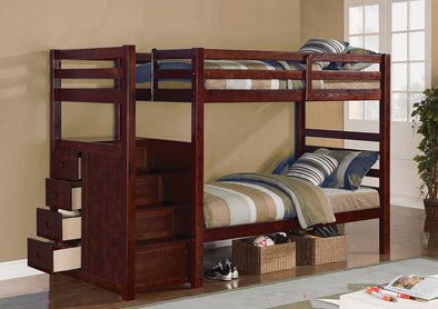 Twin / Twin Bunk Bed  865