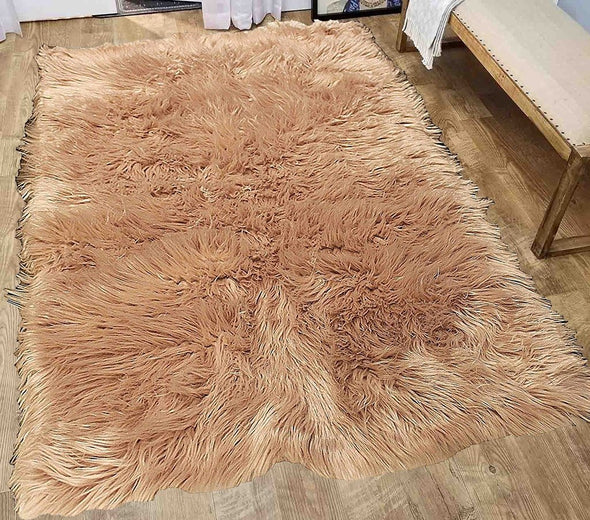 Faux Sheepskin (Fur Mocha)