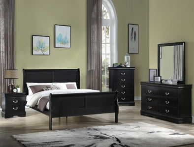 B3950 Louis Philip Bedroom Set