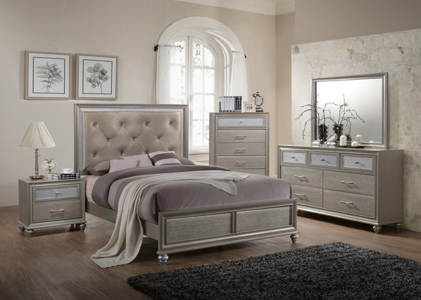 4 PCS SET B4390 LILA BEDROOM GROUP