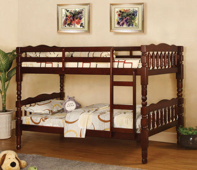 CATALINA BUNK BED     |     CM-BK606CH CHERRY