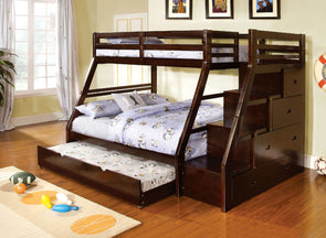 ELLINGTON TWIN/FULL BUNK BED     |     CM-BK611EX
