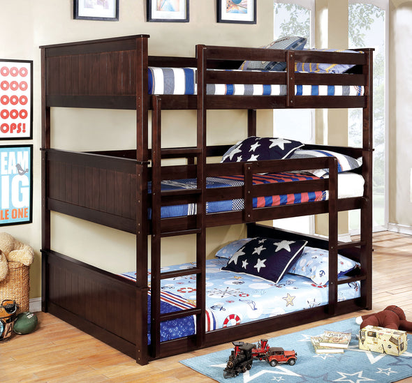 THERESE TRIPLE TWIN DECKER BED     |     CM-BK628
