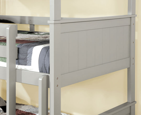 THERESE TRIPLE TWIN DECKER BED     |     CM-BK628 Grey