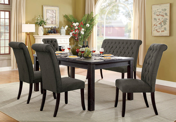 "SANIA III 72"" DINING TABLE     