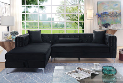 Amie Sectional     |     CM6652BK-SECT