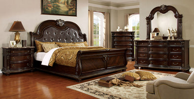 Fromberg Bed   CM7670 Brown Cherry