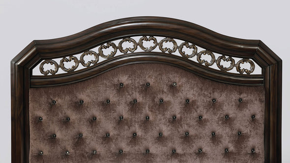 Calliope Bed CM7752 PADDED FABRIC HEADBOARD