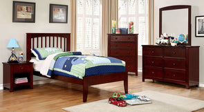 PINE BROOK BED     |     CM7908 CHERRY