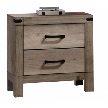 Nightstand B3200 Matteo Natural Finish Solid Wood