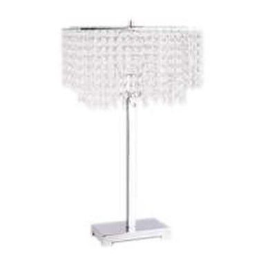 6215 TABLE LAMP CHROME