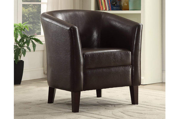Accent Chair f1509 Chocolate