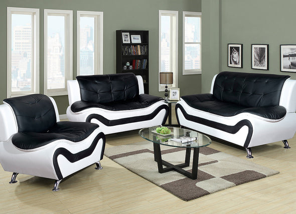 Sofa and Love Set F4501