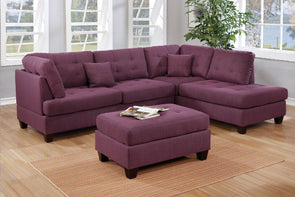 Sectional F6583 Purple