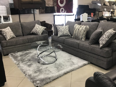 Mansion Ash Sofa and Love Set