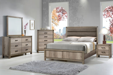 SET B3200 MATTEO BEDROOM GROUP 4 PCS