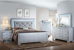 B7100 LILLIAN LED BEDROOM GROUP