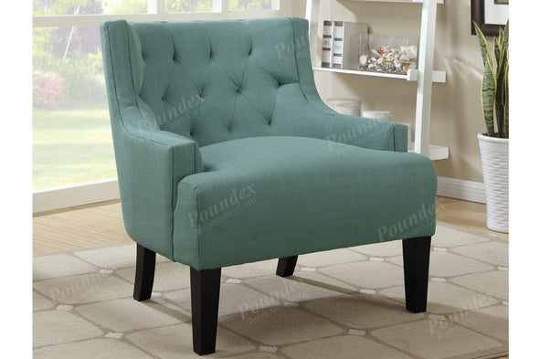 Accent Chair f1414 Light Blue