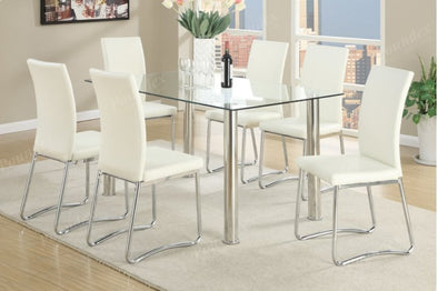 7 Pcs Dining Set F2204 F1438