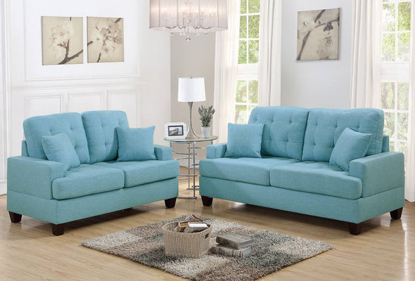 Sofa and Love Seat f6502