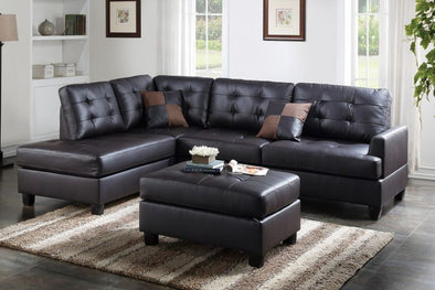 Espresso Sectional F6855