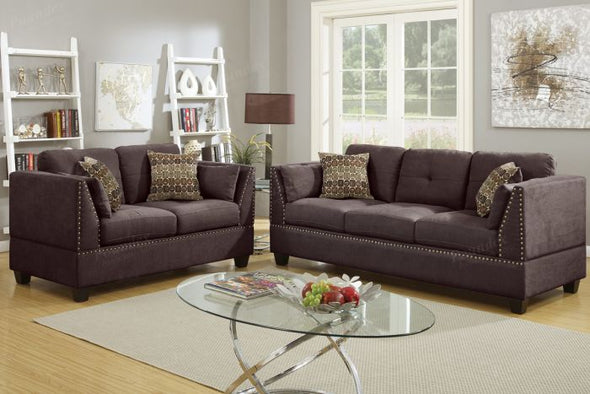 Sofa and Love Seat F6917