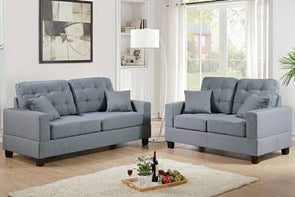 Sofa and Love Seat f7858