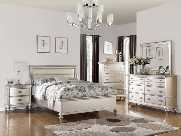 F9316 SILVER BEDROOM SET