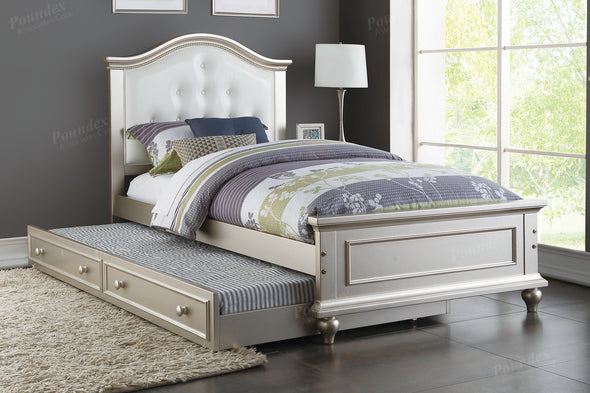 BED F9378 WITH TRUNDLE