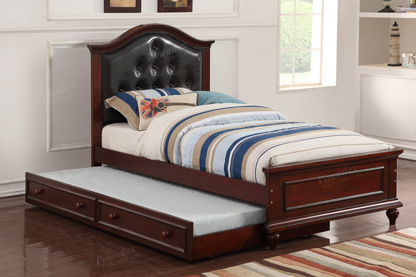 BED F9379 WITH TRUNDLE