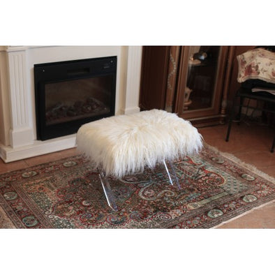 AC718 FUR BENCH White