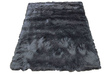 Fur Sheepskin Grey