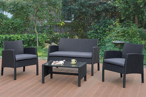 4 PCS PATIO OUTDOOR  SET P50229