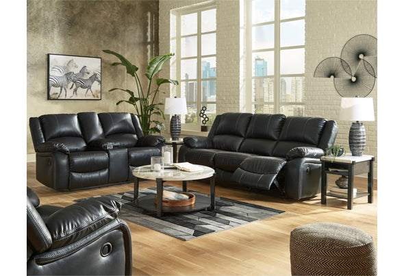 77101 Motion Sofa and Love Calderwell By Ashley
