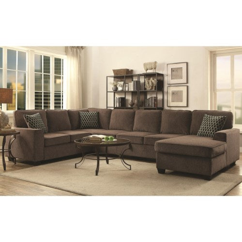 Provence Sectional with Chaise and Built-in Storage By Coaster