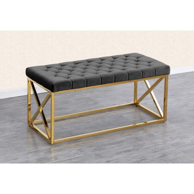 AC835 BENCH Grey gold