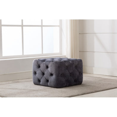AC706 Square Ottoman Tufted