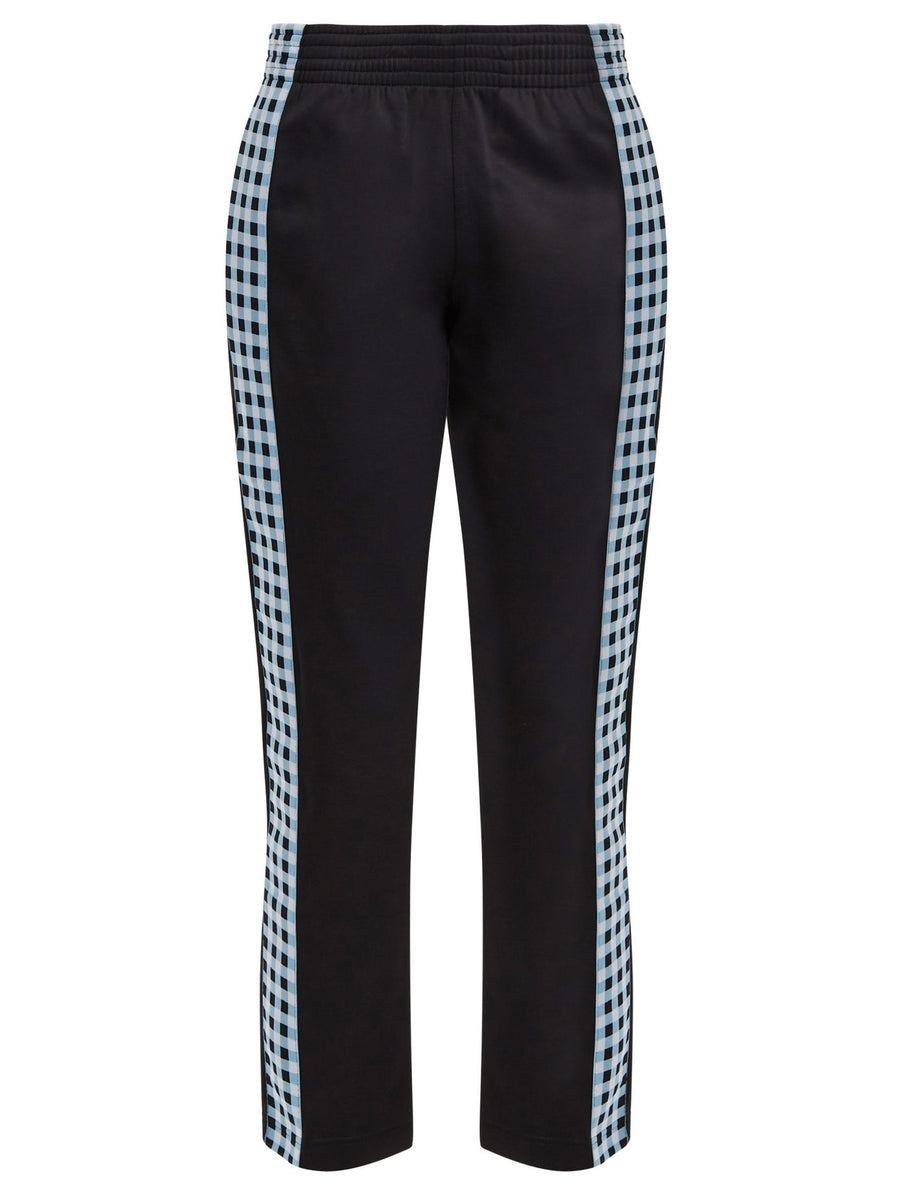 Men's Check Side Stripe Trackpant