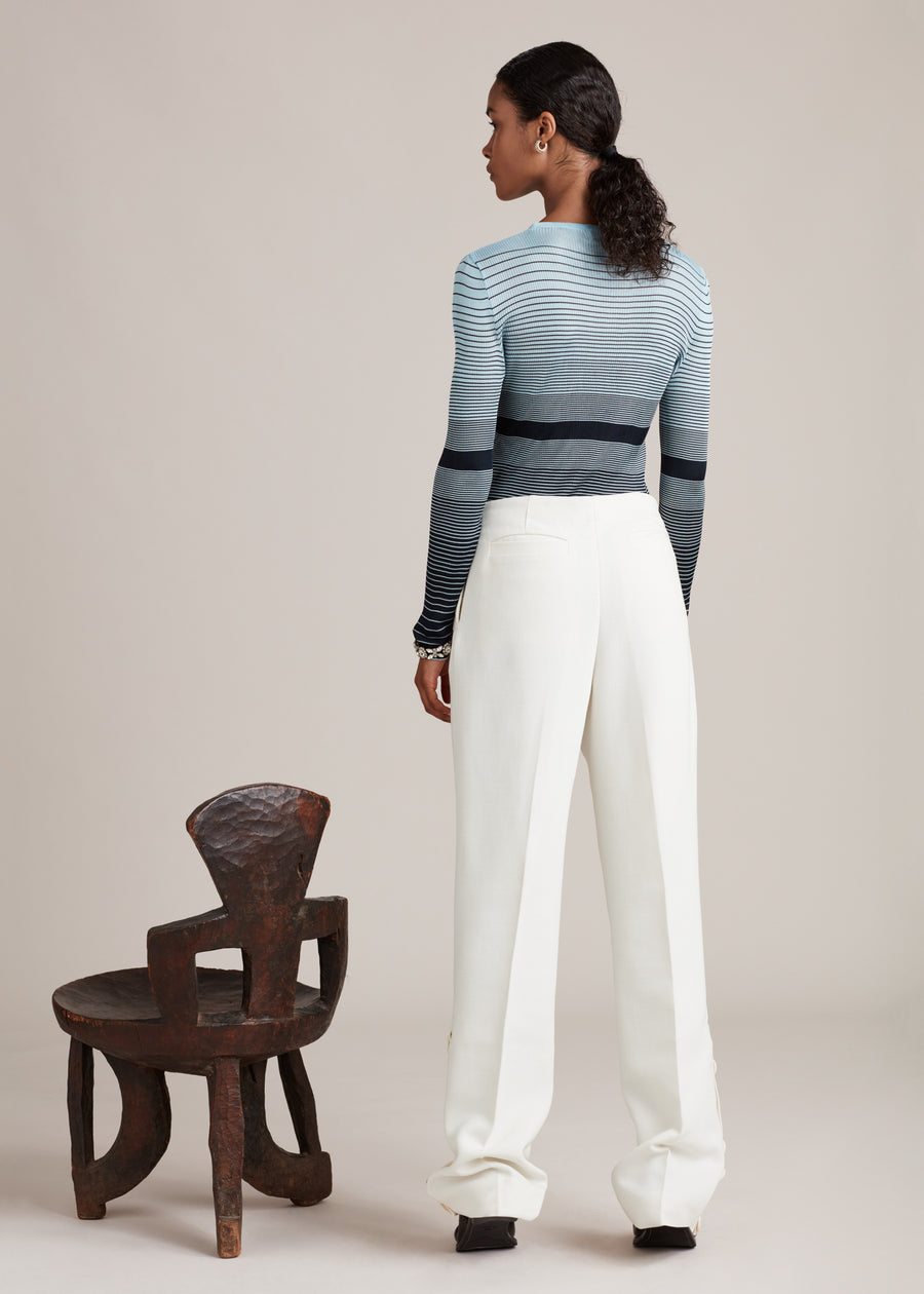 Virgin Wool Sailor Trousers