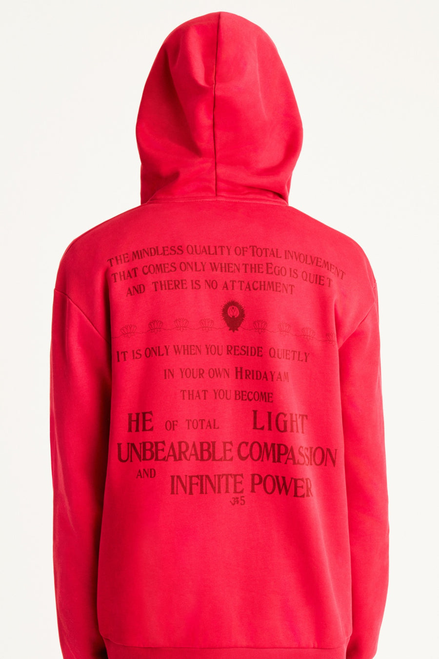 Ram Dass Devotional Zip-Up Hoodie