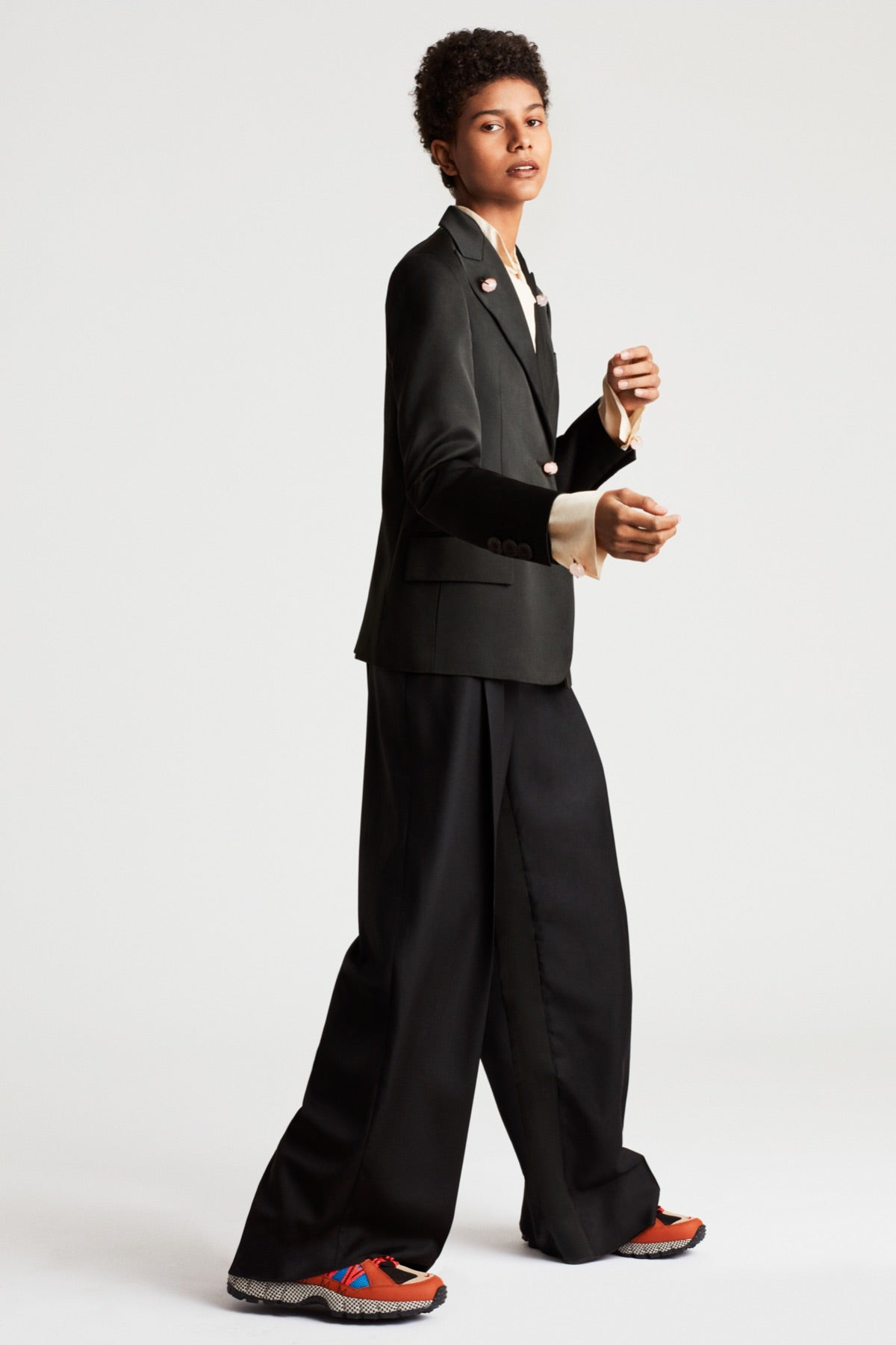 Relaxed Fit Tailored Pants