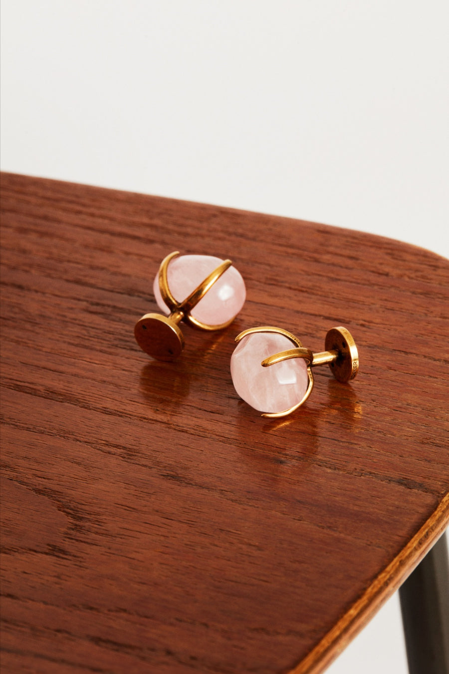 Rose Quartz Cufflinks