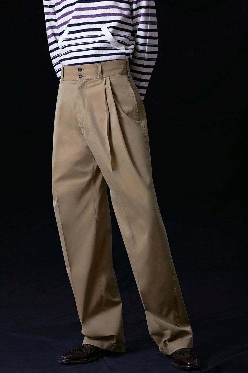 Howard Wide Leg Trousers
